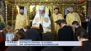 Distinctii pentru 10 clerici din Arhiepiscopia Bucurestilor