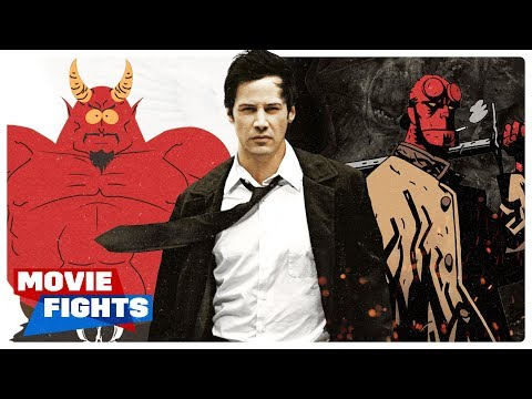 MOVIE FIGHTS: Hellboy, Hellfire, & Brimstone