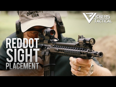 BCM Training Tip: Red Dot Sight Placement