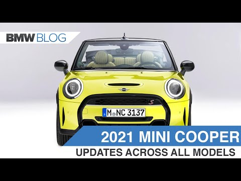 The 2021 MINI Cooper Facelift brings some subtle, yet effective updates