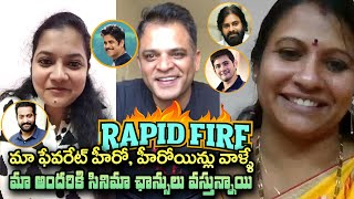 They are our favourite hero, heroine We all are getting movie offers |  మా ఫేవరేట్ హీరో వాళ్లే - IGTELUGU