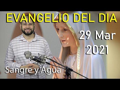 Evangelio Del Dia de Hoy - Lunes 29 Marzo 2021- Cual Es Tu Perfume de Nardo - Sangre y Agua