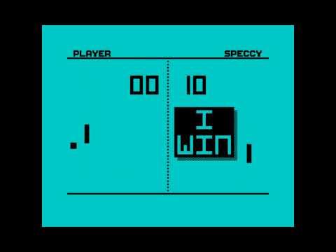 Canal Homebrew ZX-DEV Conversions: Speccy Pong (Julián Urbano Muñoz)