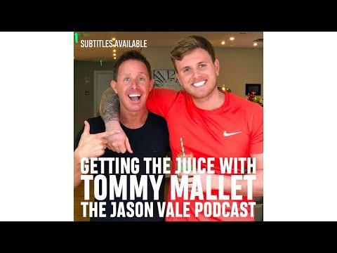 SEASON 2  #2  The Jason Vale Podcast: Tommy Mallet