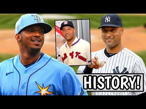 Wander Franco MAKES HISTORY! Derek Jeter FINALLY Inducted into Hall of Fame, Pujols (MLB Recap)