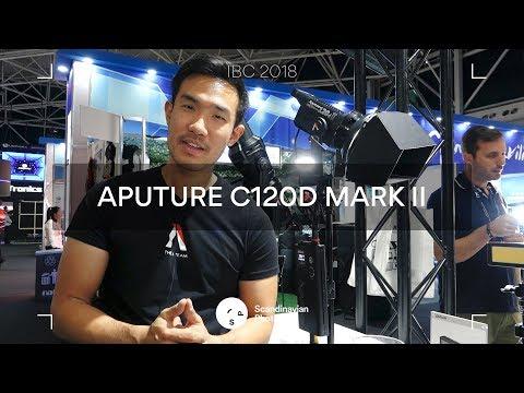IBC 2018: Ted från Aputure visar nya C120D mark II