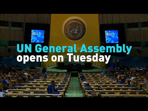 UN General Assembly opens on Tuesday