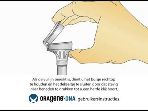 Oragene.DNA (OG-500/OG-510) user instructions (Dutch)