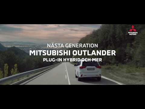 Premiär för nya Mitsubishi Outlander Plug-in Hybrid