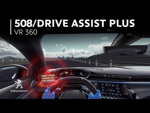 PEUGEOT 508 – 360 VR Video: Drive Assist Plus