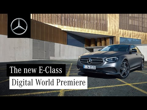 Digital World Premiere: Mercedes-Benz Presents the New E-Class