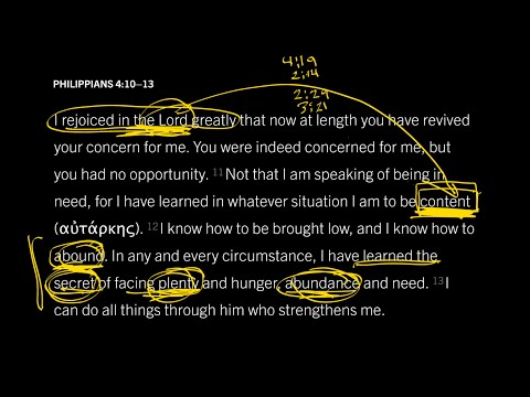 Philippians 4:10–13 // Part 5 // The Secret of Christ-Exalting Contentment