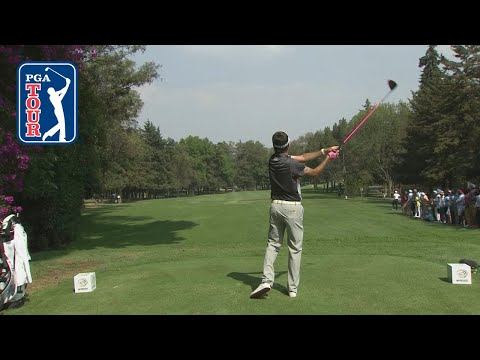 Bubba Watson?s booming 372-yard drive over the trees and on the green | WGC Mexico