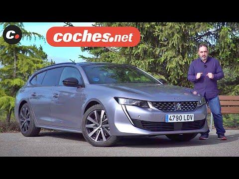 Peugeot 508 SW Hybrid GT Line 2020 | Prueba / Test / Review en español | coches.net
