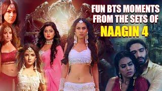 Rashami, Nia, Jasmine, Vijeyandra, and others share funny BTS moments from Naagin 4 shooting days | - TELLYCHAKKAR