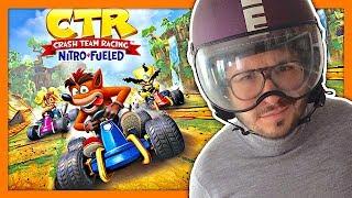 Vidéo-Test : Crash Team Racing Nitro Fueled plus fort que Mario Kart ? Gameplay