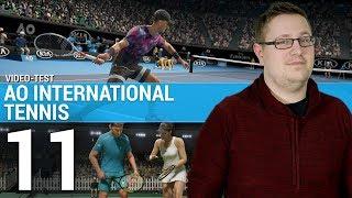 Vidéo-Test : AO INTERNATIONAL TENNIS :  Mais où est le fun ? | TEST