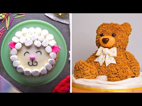 Top 23 Birthday Cake Decorating Ideas Homemade Easy Cake Design Ideas So Yummy Recipes