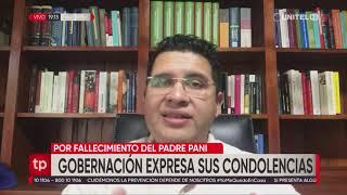 La Gobernación de Santa Cruz expresó sus condolencias tras el deceso del padre Mario Pani