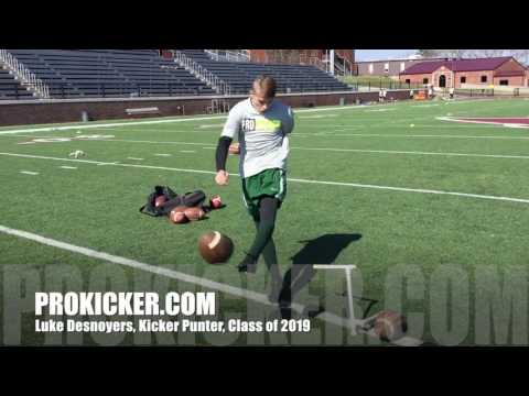 Luke DesNoyers, Ray Guy Prokicker.com Class of 2019