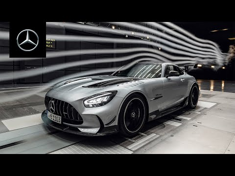 In the Wind Tunnel with the New Mercedes-AMG GT Black Series
