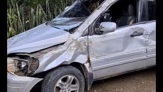 Reportan accidente de tránsito en la CA-14