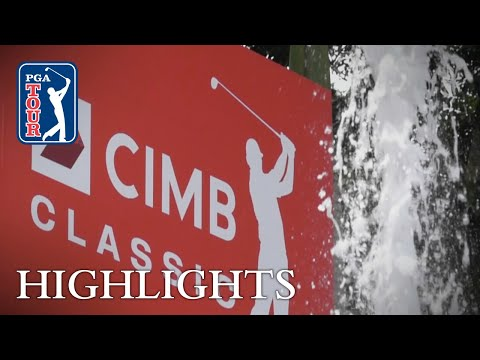 Highlights | Round 1 | CIMB 2018 2018
