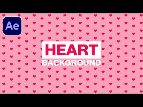 วิธีทำแบ็กกราวด์-รูปหัวใจ-หวาน