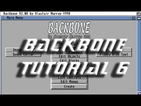 Backbone Amiga Tutorial 6