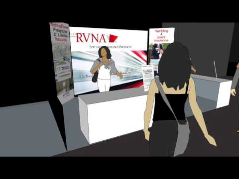 RVNA Trade Booth Design Animation