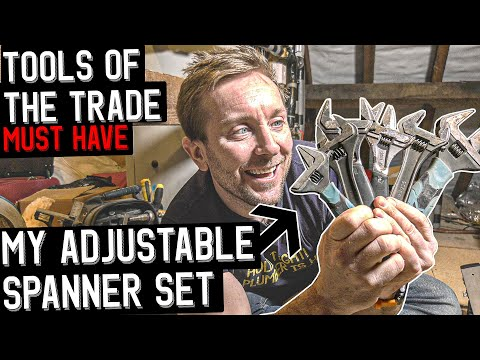 TOOLS OF THE TRADE - Which Adjustable Spanners for Plumbers?