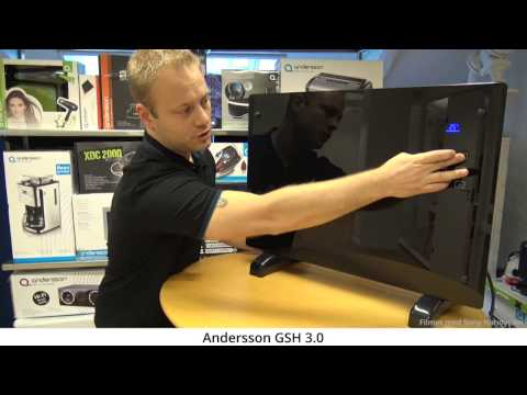 Vi tar tempen på varmeovnen GSH 3.0 fra Andersson