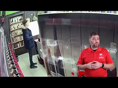 Russian Robber Gets The Hot Sauce