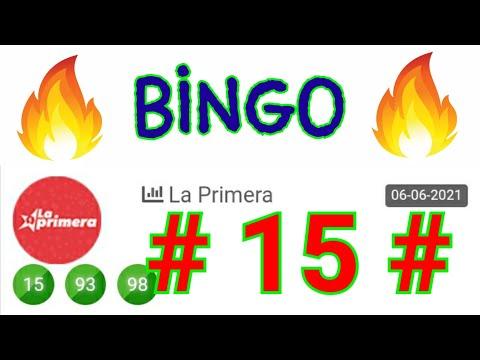 NÚMEROS GANADORES (( 15 )) BINGO hoy...! loteria LA PRIMERA/ RESULTADOS de las LOTERÍAS/ SORTEOS HOY