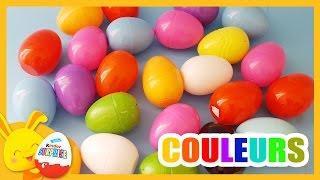 Compétition des couleurs Disney - Oeufs surprises - Couleurs - Titounis - Touni Toys
