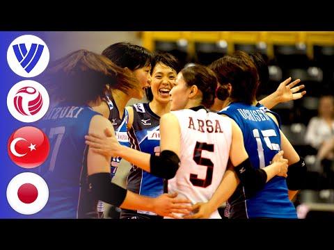 Turkey vs. Japan - Full Match   Women's Volleyball World Grand Prix 2016
