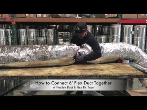 How-To Connect 6' Flexible Duct - The Duct Shop