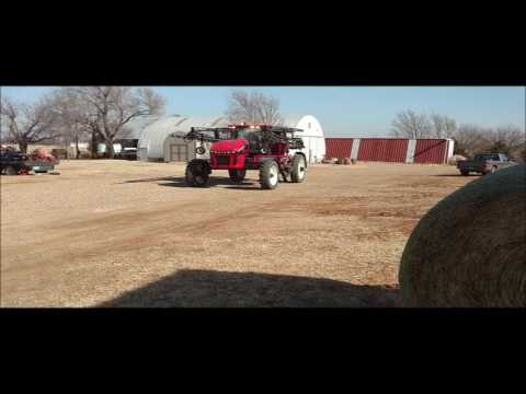 2014 Apache AS720 self-propelled applicator for sale | no-reserve Internet auction March 8, 2017