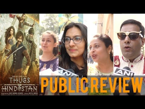 Thugs Of Hindostan PUBLIC REVIEW | Aamir Khan | Amitabh | Katrina | Fatima | Bollywood News