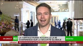 La capitale russe accueille la 9e édition de la conférence sur la sécurité globale