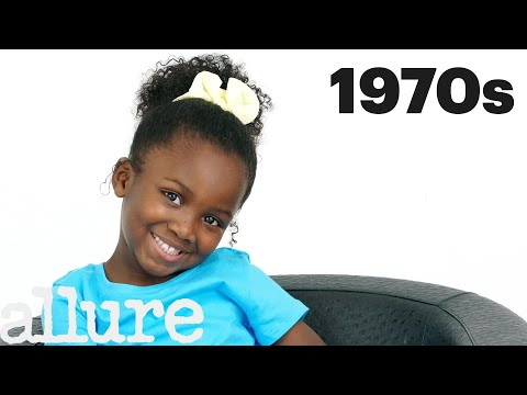 100 Years of Girls Hair | Allure