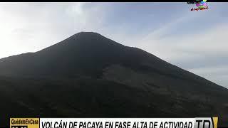 Volcán de Pacaya entra en fase de alta actividad