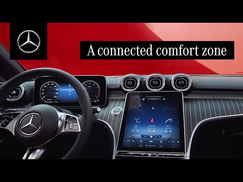 The New C-Class Sedan: A Connected Comfort Zone