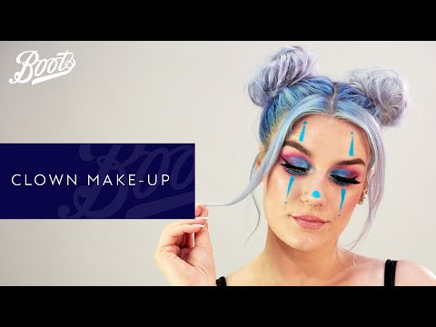 boots.com & Boots Promo Code video: Easy Halloween Clown Make-up Tutorial