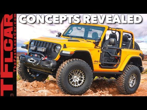 Breaking News! Jeep Reveals 2018 Jeep Easter Safari Concepts in Detroit