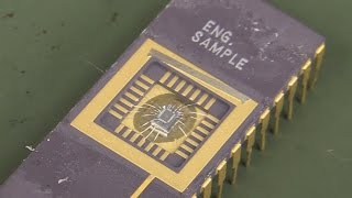RF Test Chips Under The Microscope