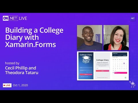 On .NET Live - Building a College Diary with Xamarin.Forms
