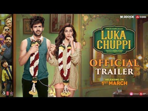 Luka Chuppi Official Trailer | Kartik Aaryan, Kriti Sanon, Dinesh Vijan, Laxman Utekar | Mar 1