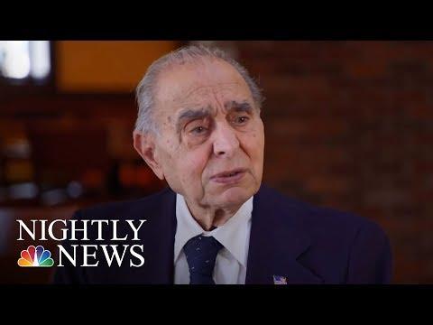 93-Year-Old Veteran Serves His Community As Mayor | NBC Nightly News
