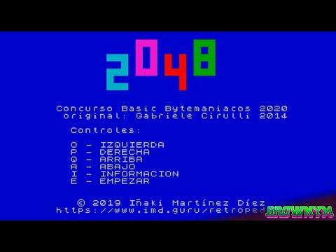 2048 - [Iñaki Martínez Díez] Basic 2020 - Bytemaniacos